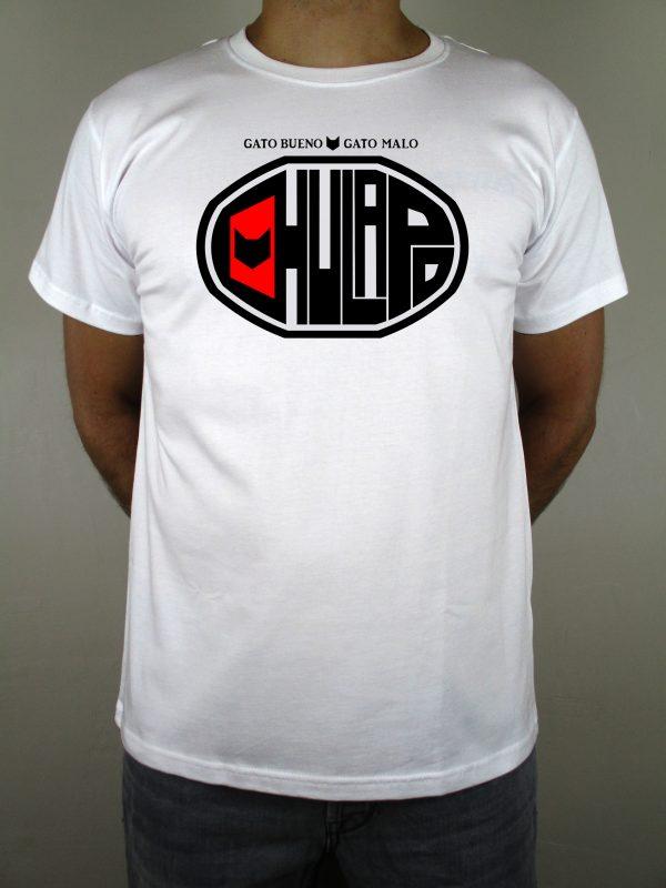 Camiseta blanca Chulapo para madrileños. Una camiseta 100% española con y con mucho sentimiento. La mejor calidad, impresión digital y sentimiento madrileño. Imprescindible para el buen madrileño. Regalo perfecto.