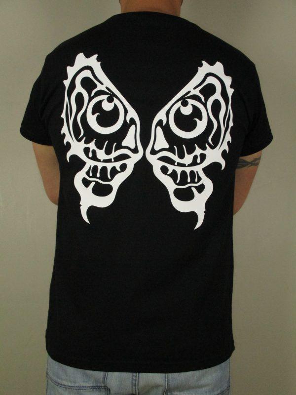 EHT Harapos camiseta de calidad alas calavera Triyi