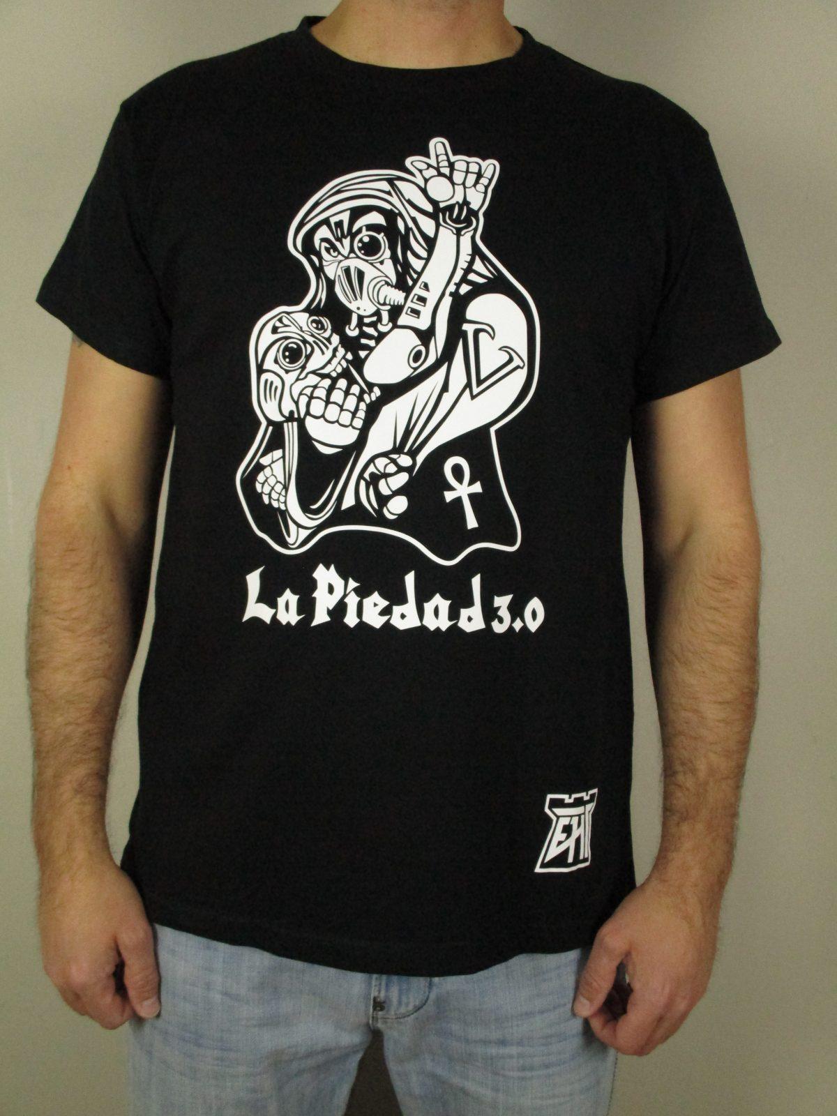Camiseta calidad España La Piedad de Miguel Ángel EHT Harapos