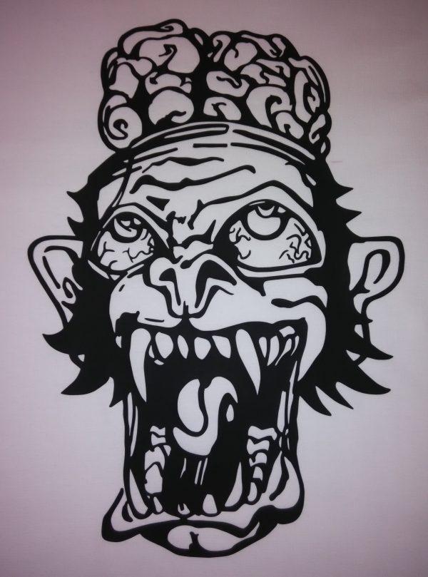 EHT Harapos camisetas de calidad diseños exclusivos marca registrada mono loco