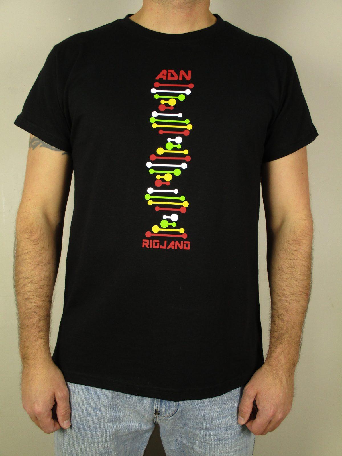 Camiseta riojana EHT calidad roblanvera hecho en España calidad exclusivo La Rioja ADN,